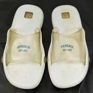 Versace Sports Medusa Slide On Sandals